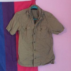 All Saints safari shirt S
